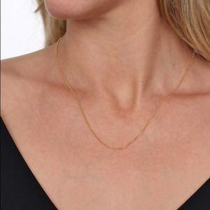 "RCI Jewelry - RCI 14K YELLOW GOLD DELICATE LINK CHAIN 18"""